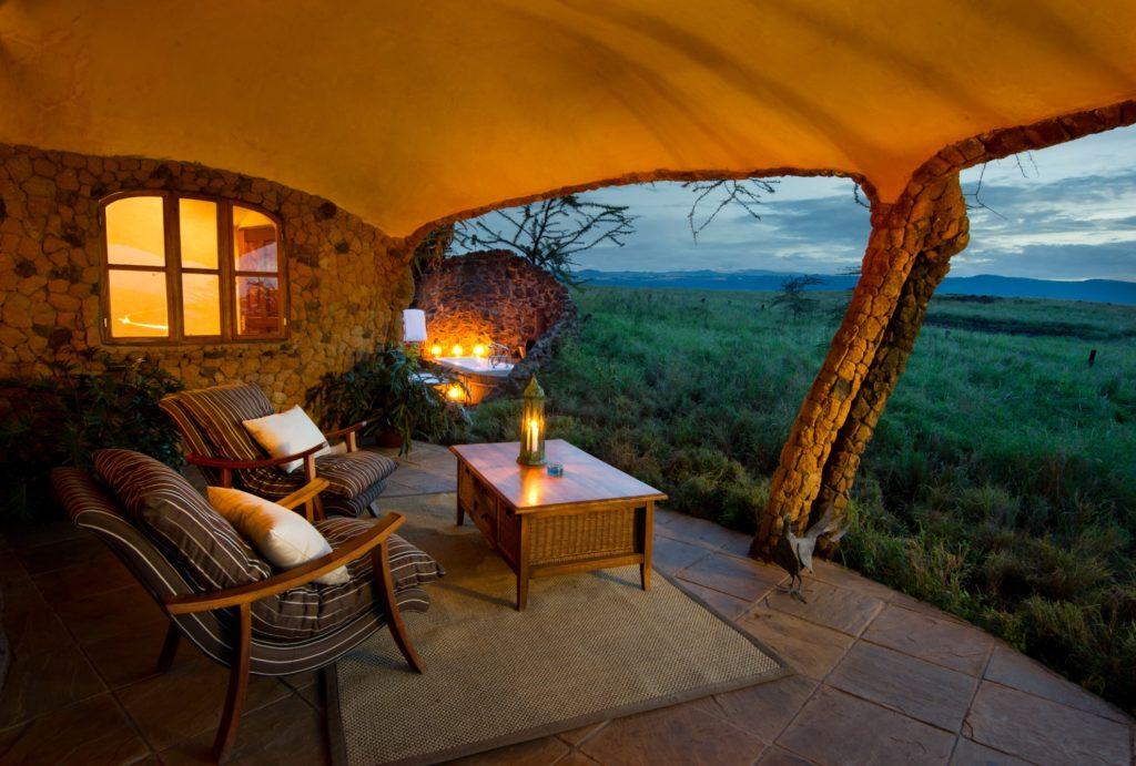 Kenya - Lewa Conservancy - 12890 - Lewa House Terrace Views