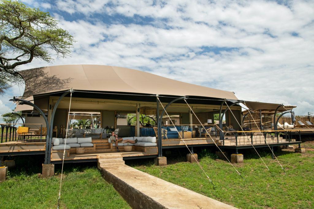 Tanzania - Eastern Serengeti - 1568 - Exterior of Main Lodge