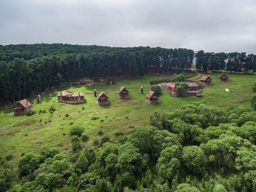 Malawi - Nyika National Park - 1564 - Lodge Views of Mountain