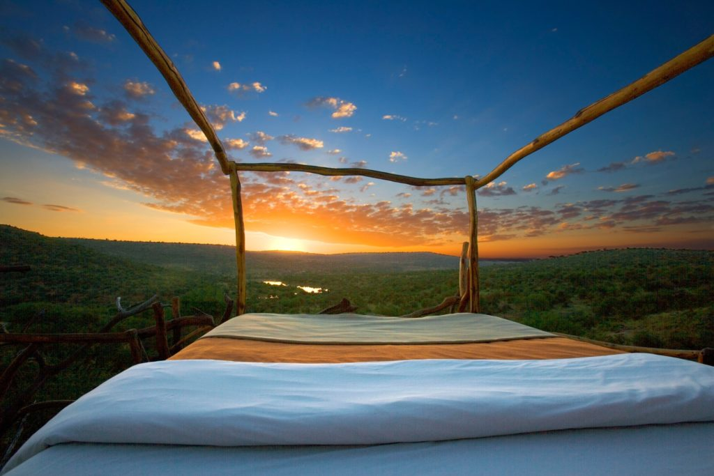 Kenya - Loisaba Conservancy - 12890 - Elewana Loisaba Star Beds Sunrise