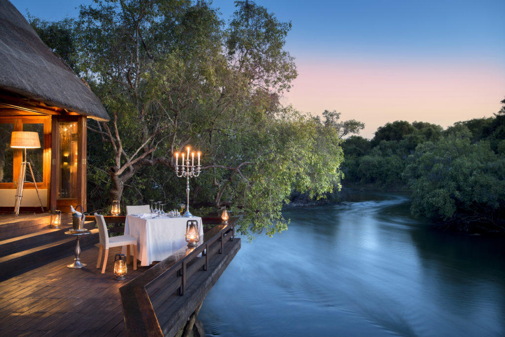 Zambia - Livingston - 1564 - Decking overlooking River