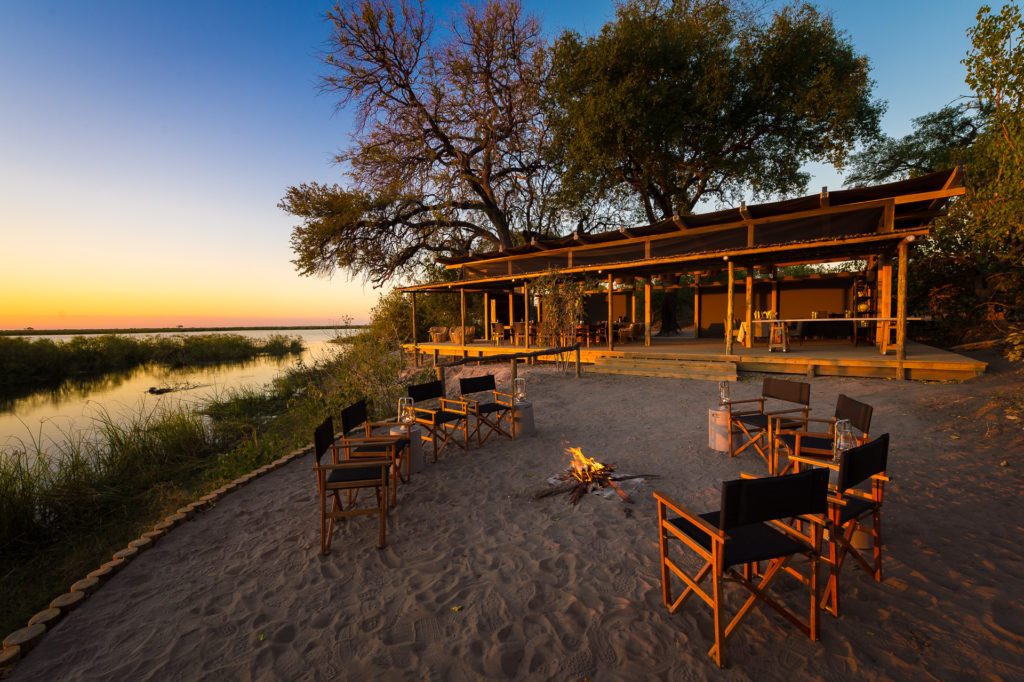 Botswana - Linyanti Concessions - 1553 - Linyanti Tented Camp Outdoor Seating