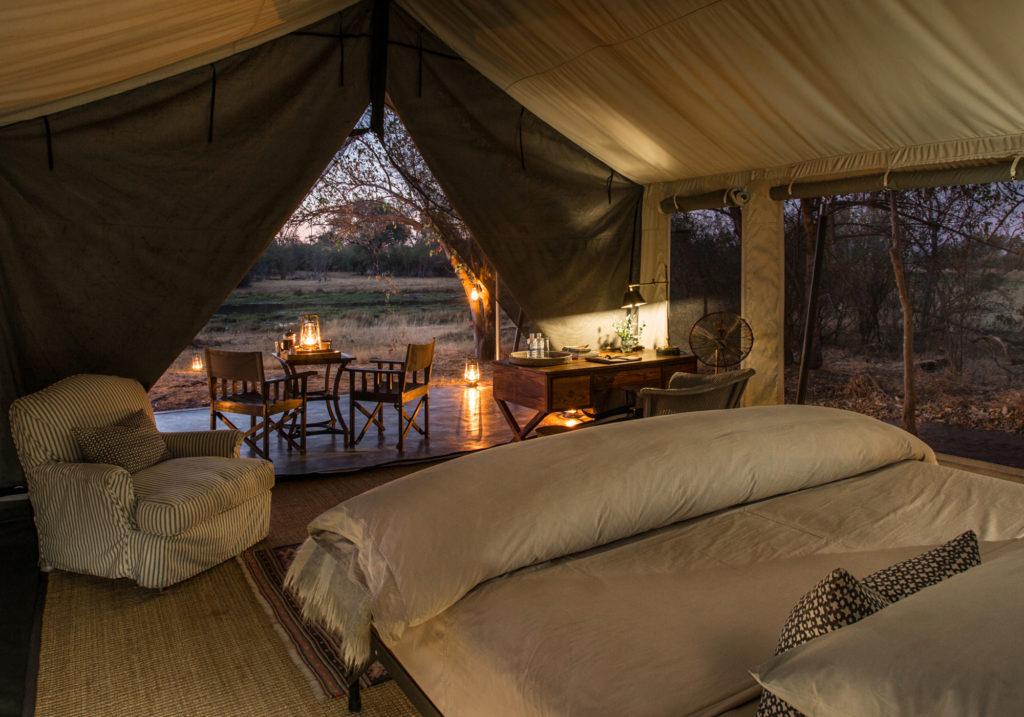 Botswana - Khwai Conservancy - 1553 - Machaba Camp Luxury Tented Suite