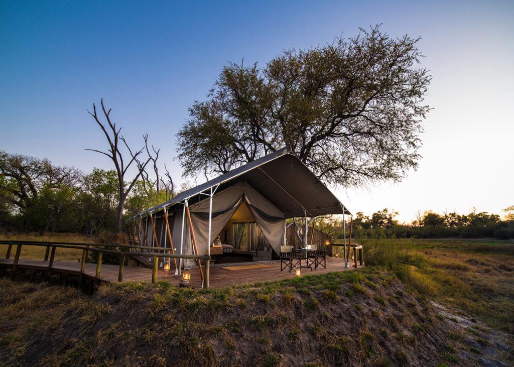 Botswana - Khwai Conservancy - 1553 - Little Machaba Luxury Tented Room