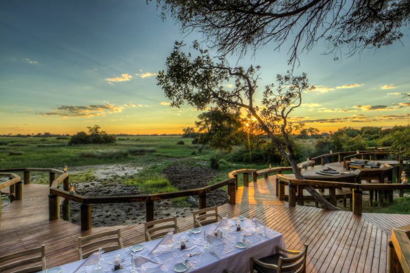 Camp Okavango Main Area Dining