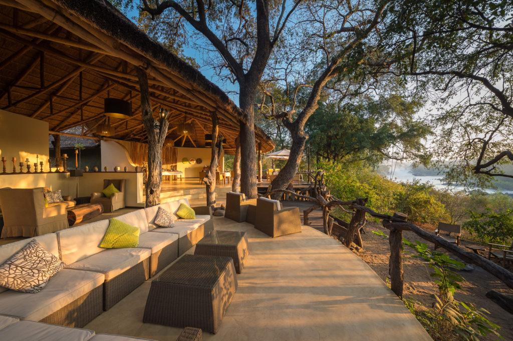 Malawi - Majete Wildlife Reserve - 1564 - Decking Views of River