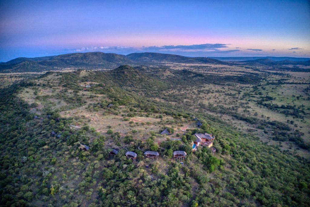 Tanzania - Central Serengeti - 1568 - Arial View