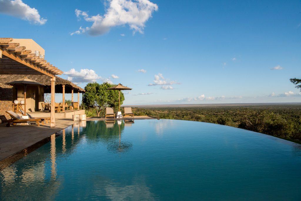 Kenya - Mugie Wildlife Conservancy - 12890 - Pool Views
