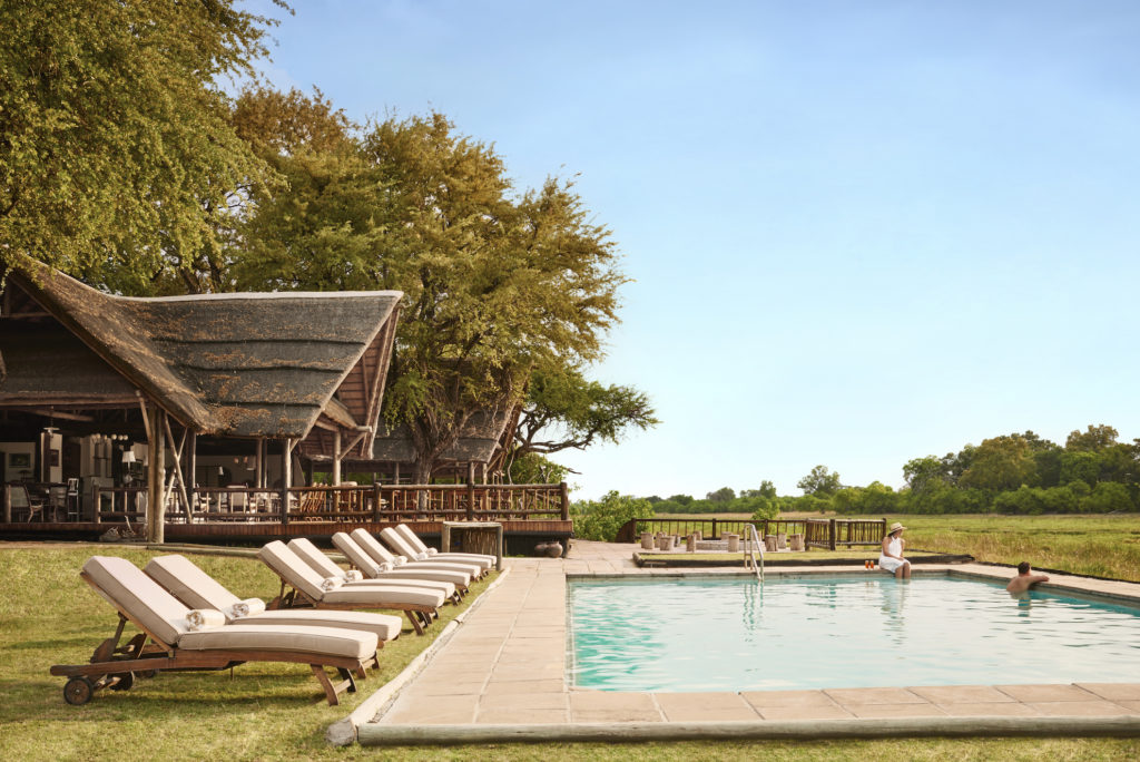 Botswana - Khwai Community Area - 1553 - Belmond Khwai River Lodge pool