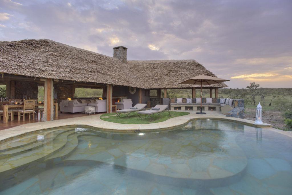 Kenya - Mara Naboisho Conservancy - 12890 - Naboisho Pool at Sunset