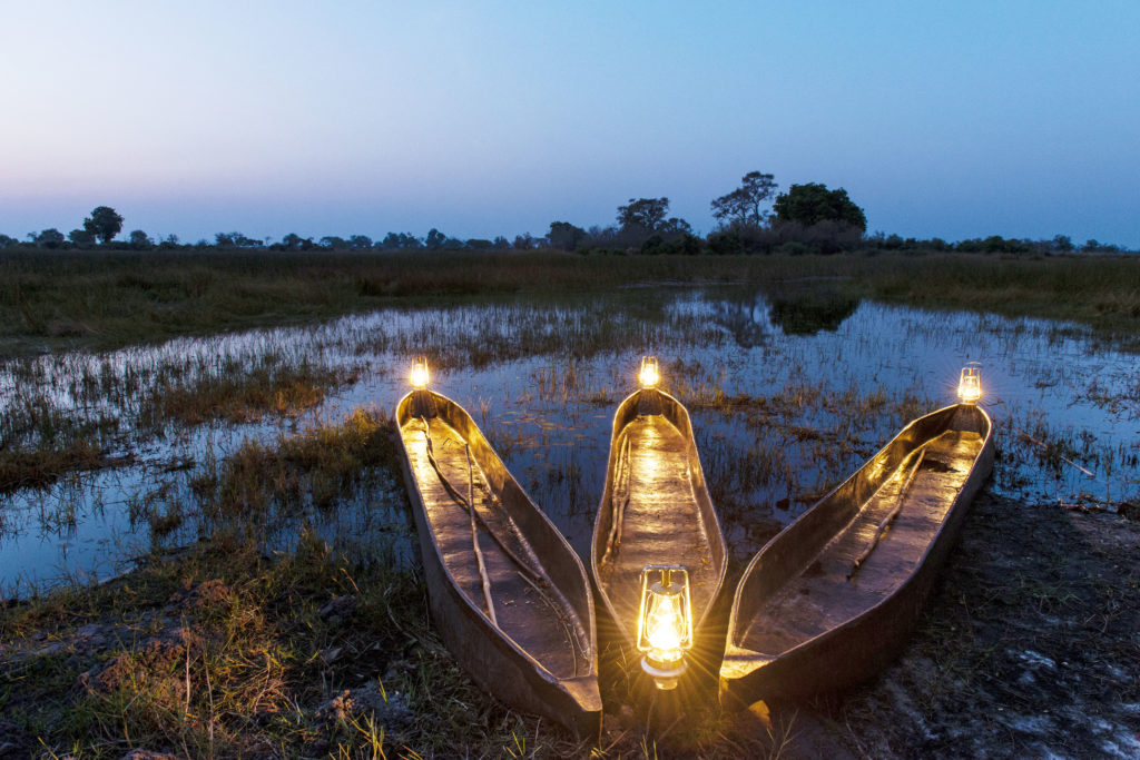 Okavango Delta Mobile Expedition Mokoro Experience