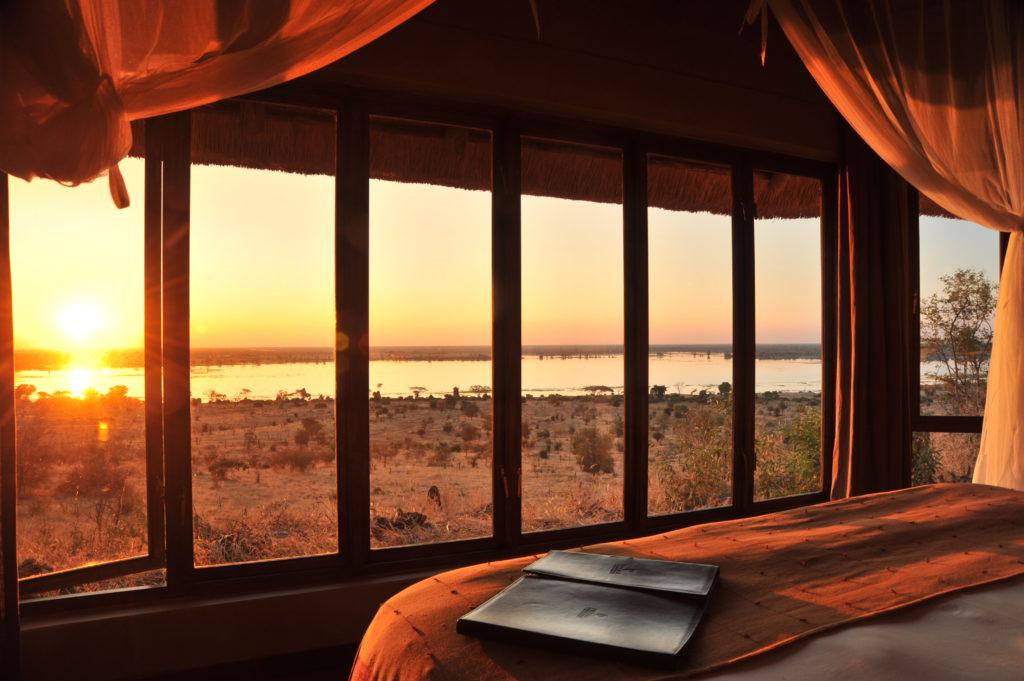 Ngoma Safari Lodge Suite Sunset View