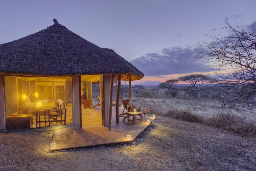 Tanzania - Tarangire National Park - 1568 - Decking next to Lodge