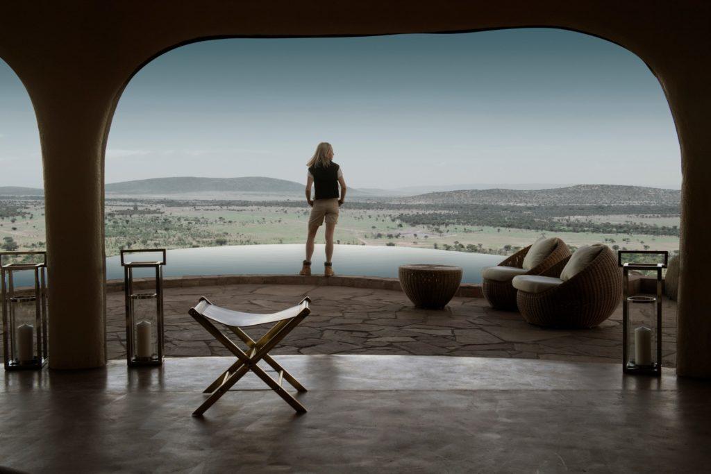 Kenya - Loita Hills - 12890 - Olarro Lodge Pool Views
