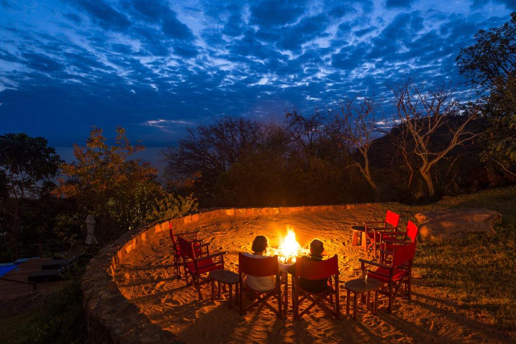 Malawi - Cape Maclear - 1564 - Boma at Night