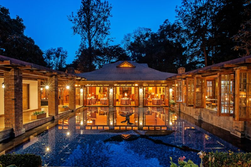 Tanzania - Arusha - 1568 - Restaurant Exterior and Pool