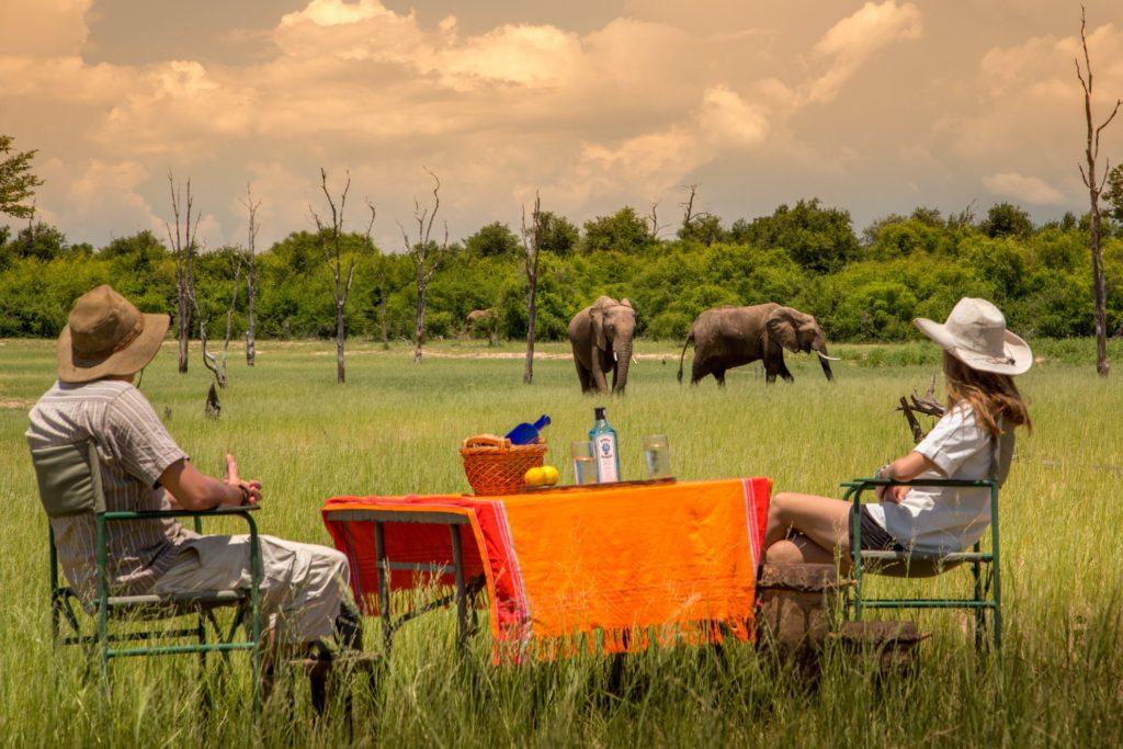 Rhino Safari Camp Lake Kariba Zimbabwe Safari Game Watching