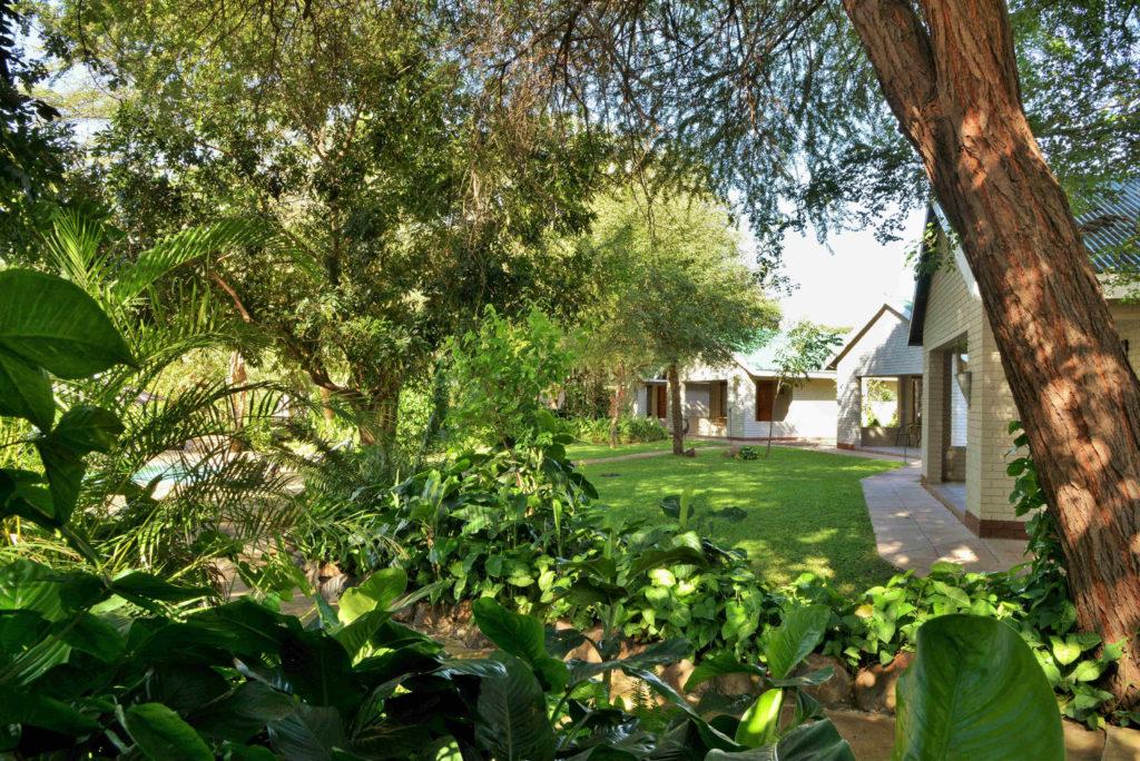 Botswana - Chobe River Front - 1553 - Exterior of Lodge