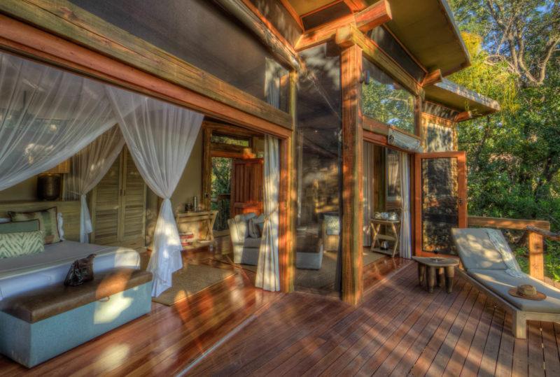 Botswana - Okavango Delta - Camp Okavango - Guest Suite Exterior