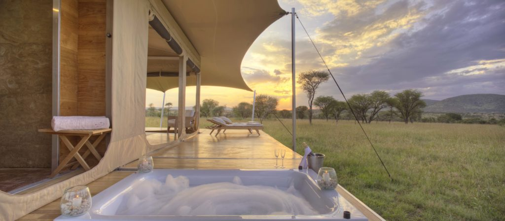 Tanzania - Central Serengeti - 1568 - View from Jacuzzi