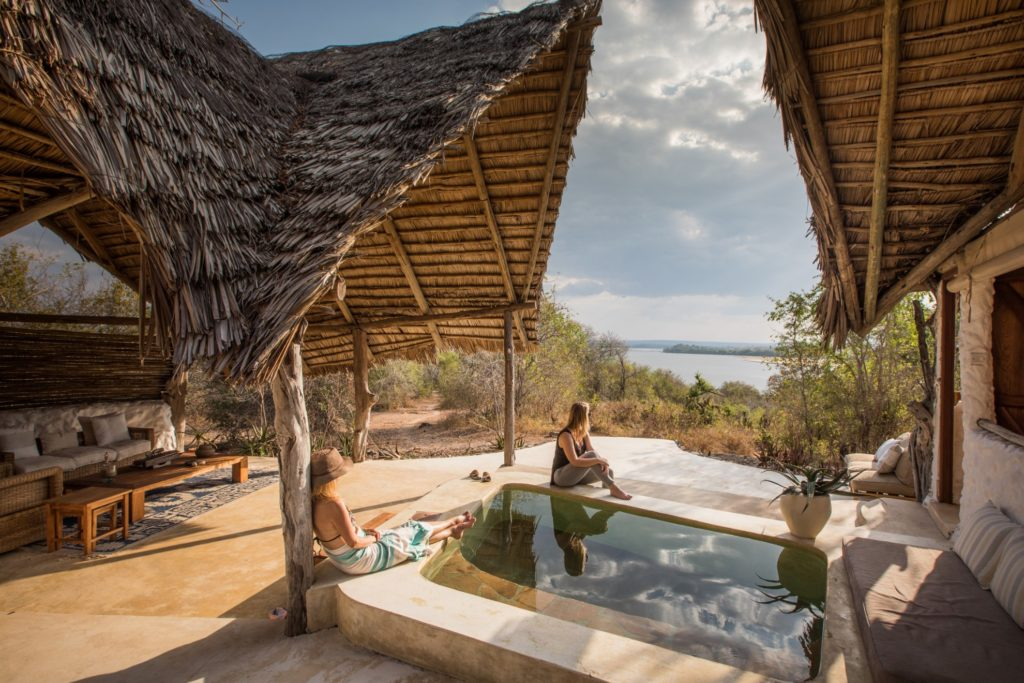 Sand Rivers Camp - Selous Game Reserve - 1568 - Tanzania Plunge Pool Views