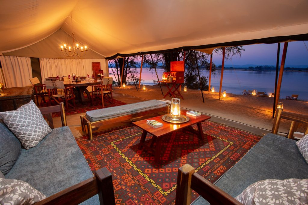 Zimbabwe - Sapi Reserve - 1564 - Tent Interior