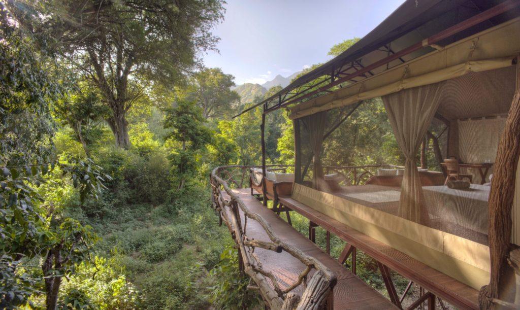 Kenya - Matthews Range - 12890 - Sarara Tree Camp Tree Top Tents