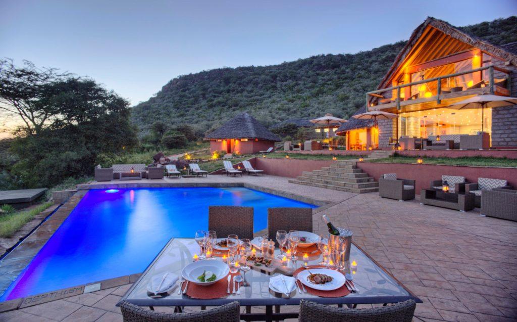 Kenya - Masai Mara - 12890 - Spirit of the Masai Mara Pool and Dining