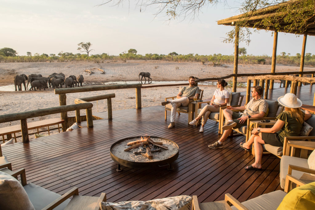 Botswana - Savuti-Chobe National Park - Savute Safari Lodge Main Area - Elephant Watching