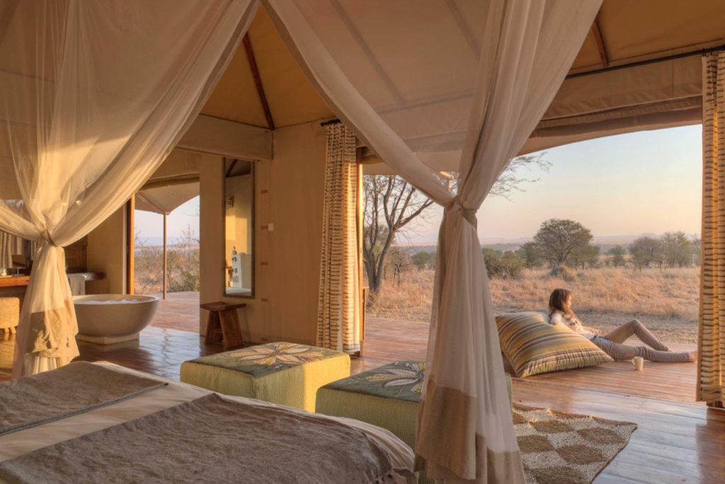 Tanzania - Northern Serengeti - 1568 - Private Verandah
