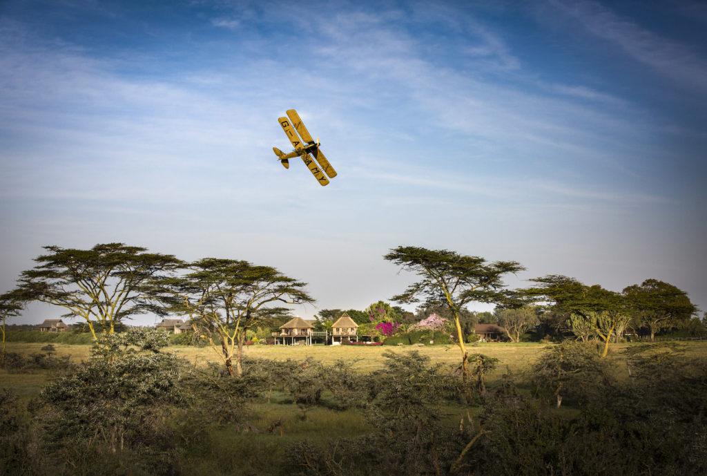 Kenya - Laikipia - 12890 - Segera Retreat plane