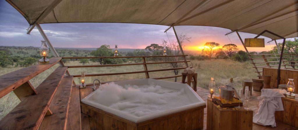 Tanzania - Northern Serengeti - 1568 - Jacuzzi Sunset Views