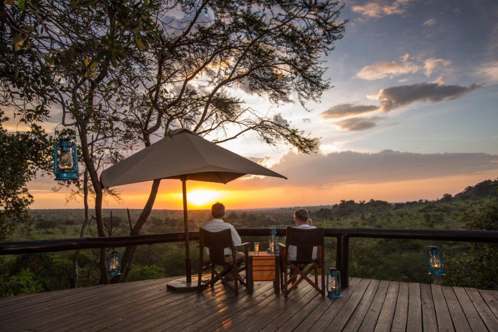 Tanzania - Northern Serengeti - 1568 - Viewing Platform