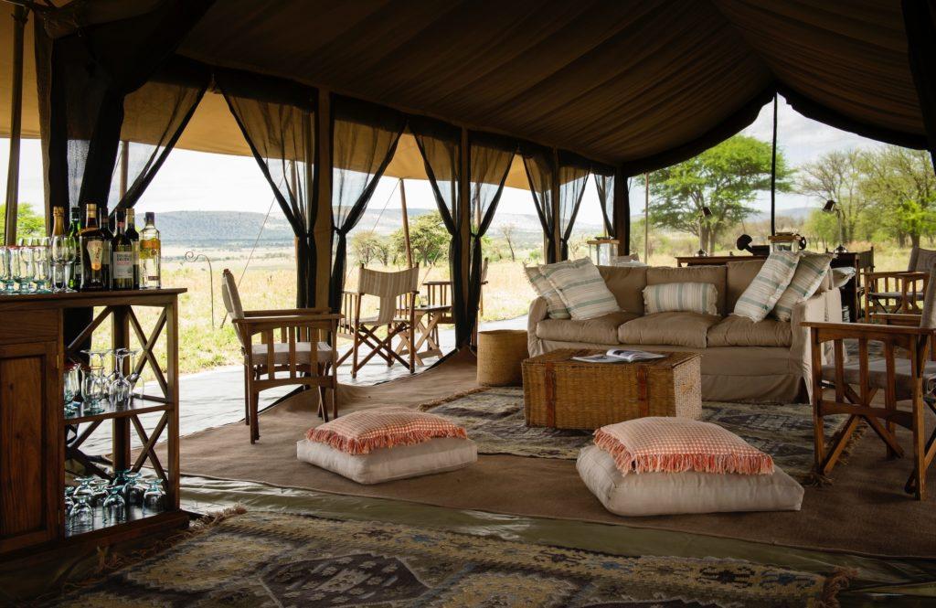 Tanzania - Central Serengeti - 1568 - Serengeti Safari Camp Central interior