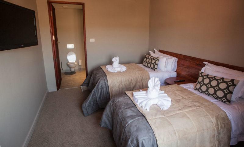 Botswana - Chobe River Front - Chobe Bush Lodge - Family room interleading