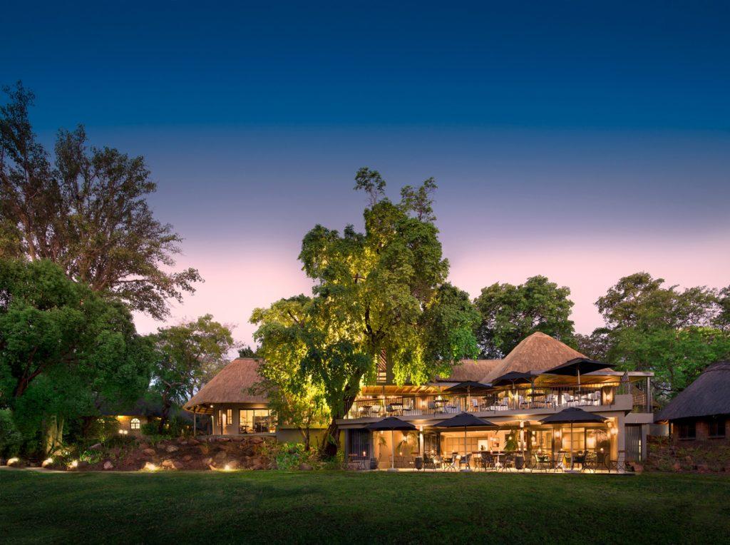 Zimbabwe - Victoria Falls - 1564 - Exterior of Main Hotel Building