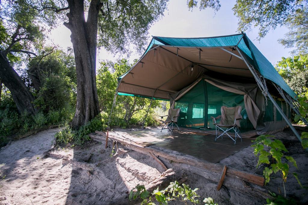 Botswana - Okavango Delta - 1553 - Bushman Plains Camp exterior