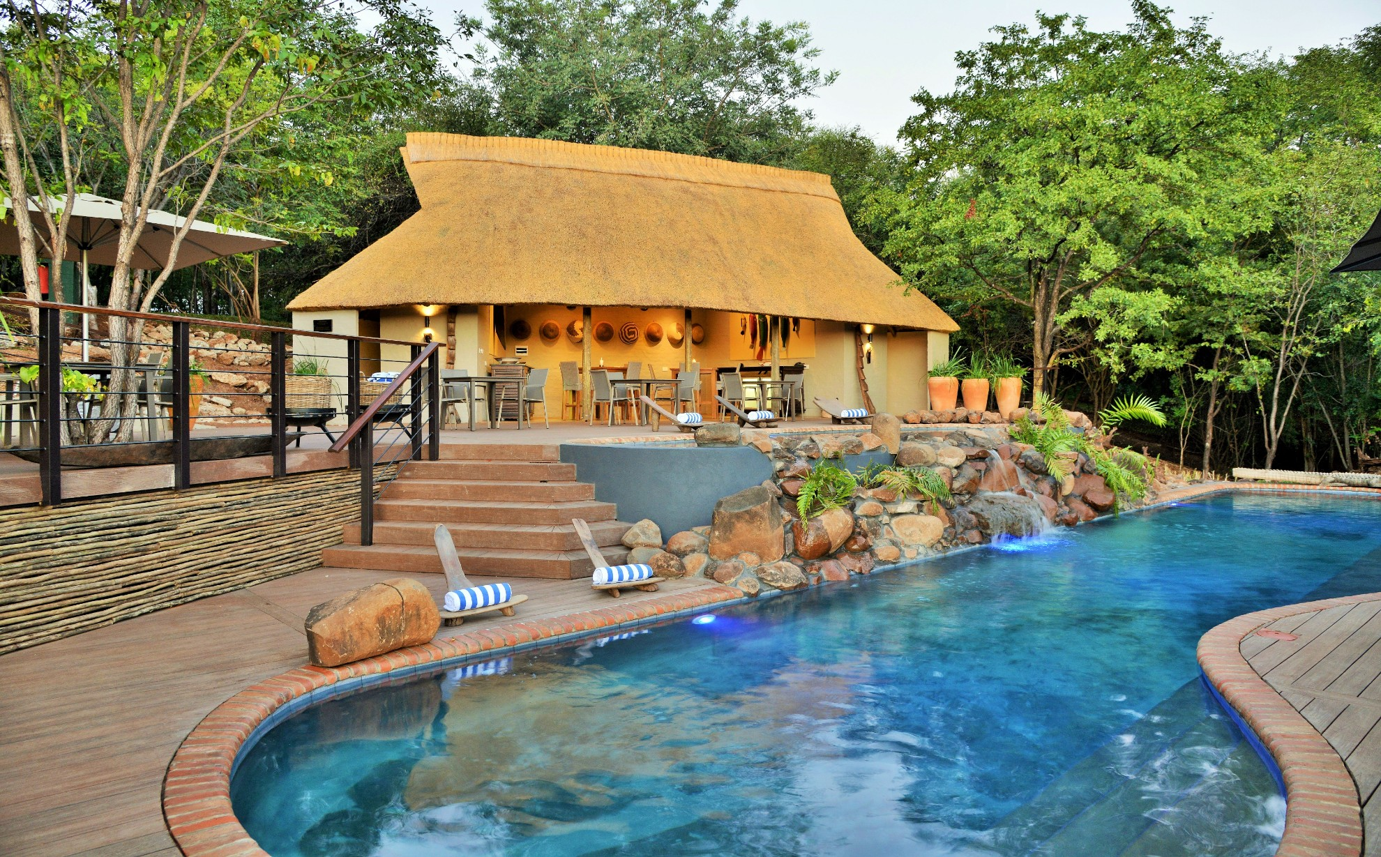 Victoria Falls Safari Club Zimbabwe Pool