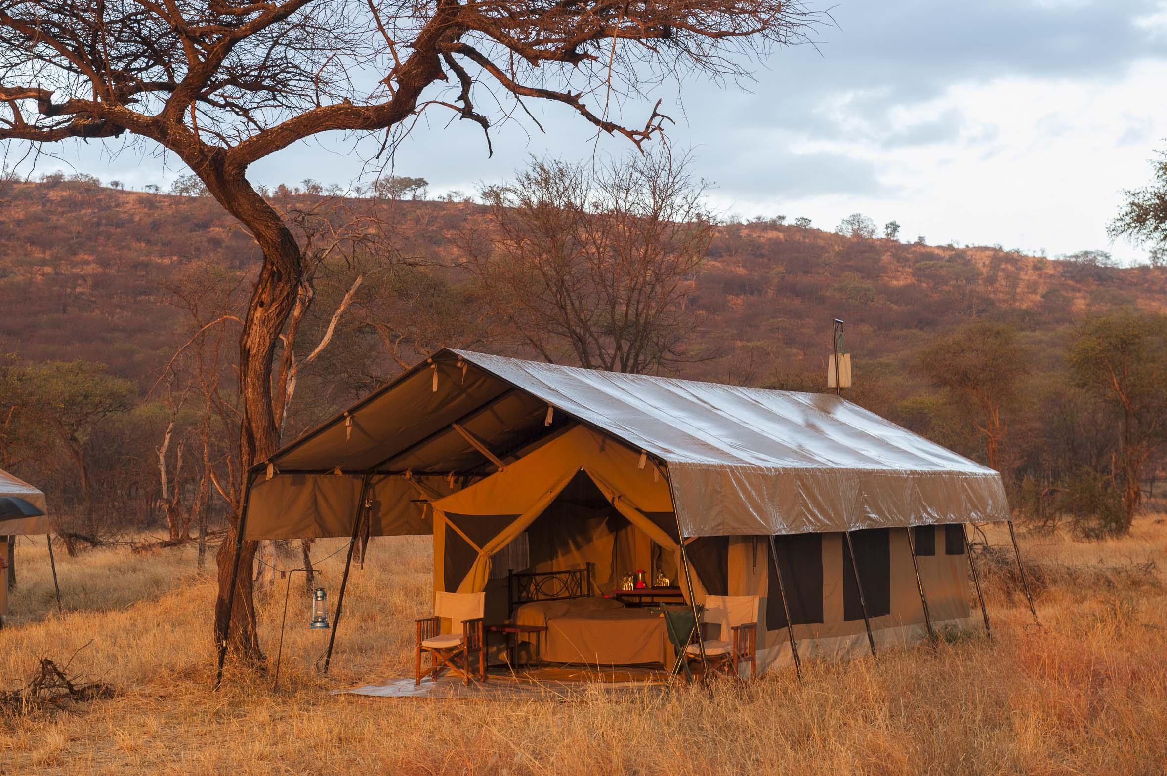 Kati Kati Tented Camp Outside Area