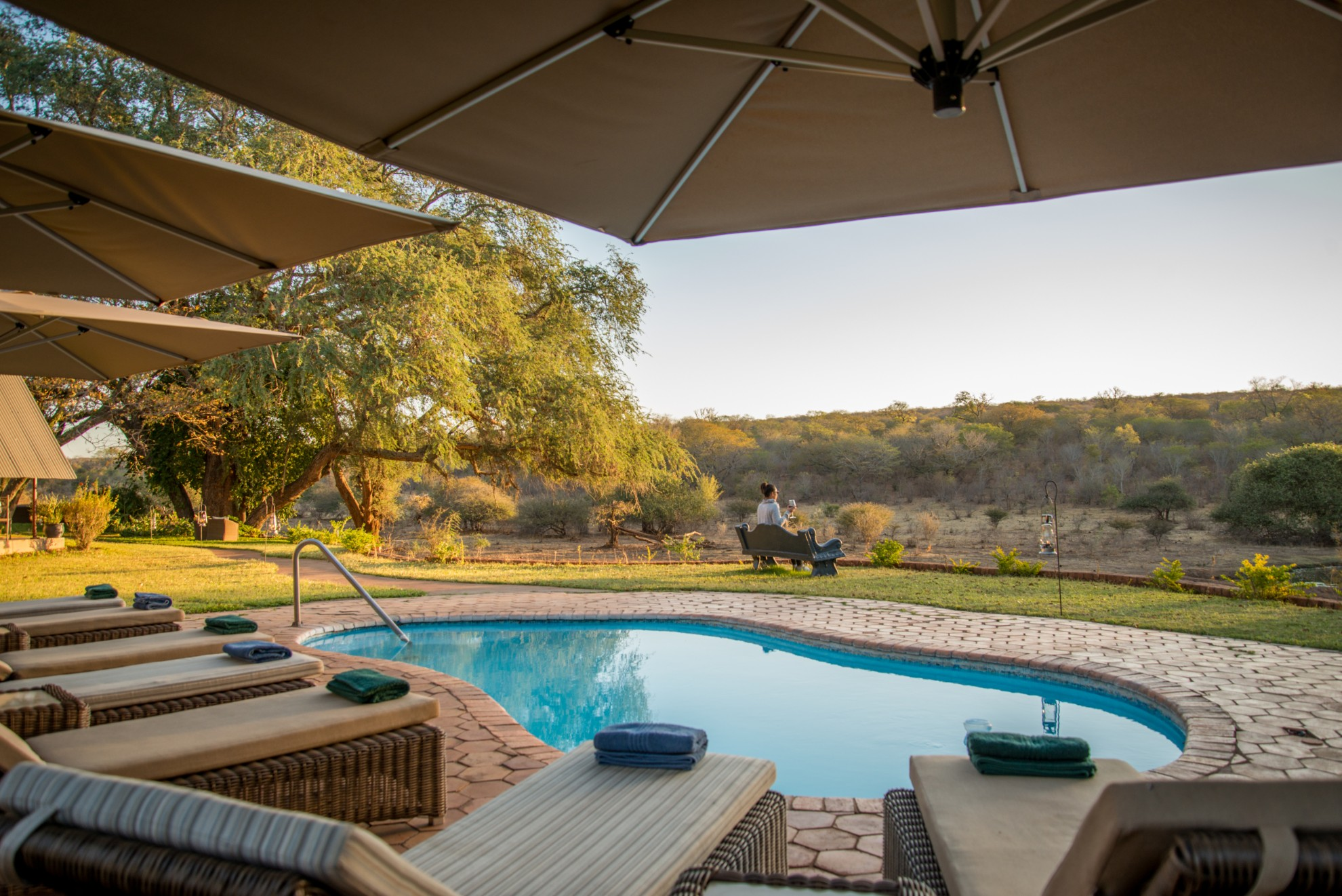 Ursula's Homestead Victoria Falls Zimbabwe Pool Views