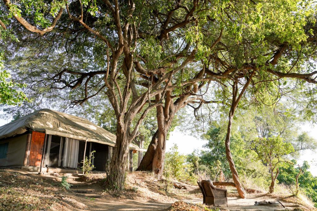 Zimbabwe - Mana Pools - 1564 - Camp Exterior