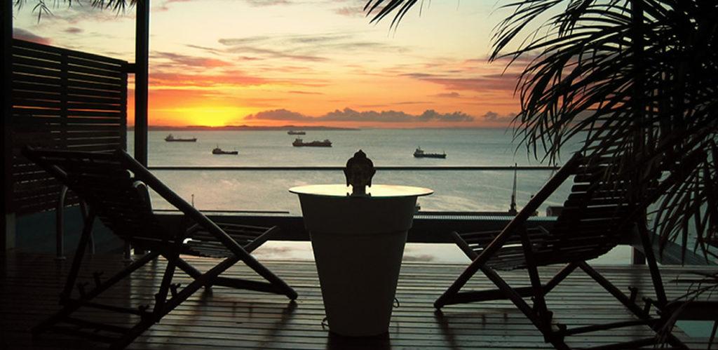 Brazil - Salvador - 1569 - Aram Yami Hotel Sunset Decking