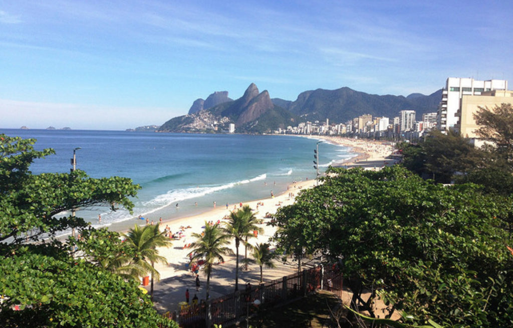 Brazil - Sao Paulo - 1584 - Arena Ipanema Balcony Beach Mountain Views