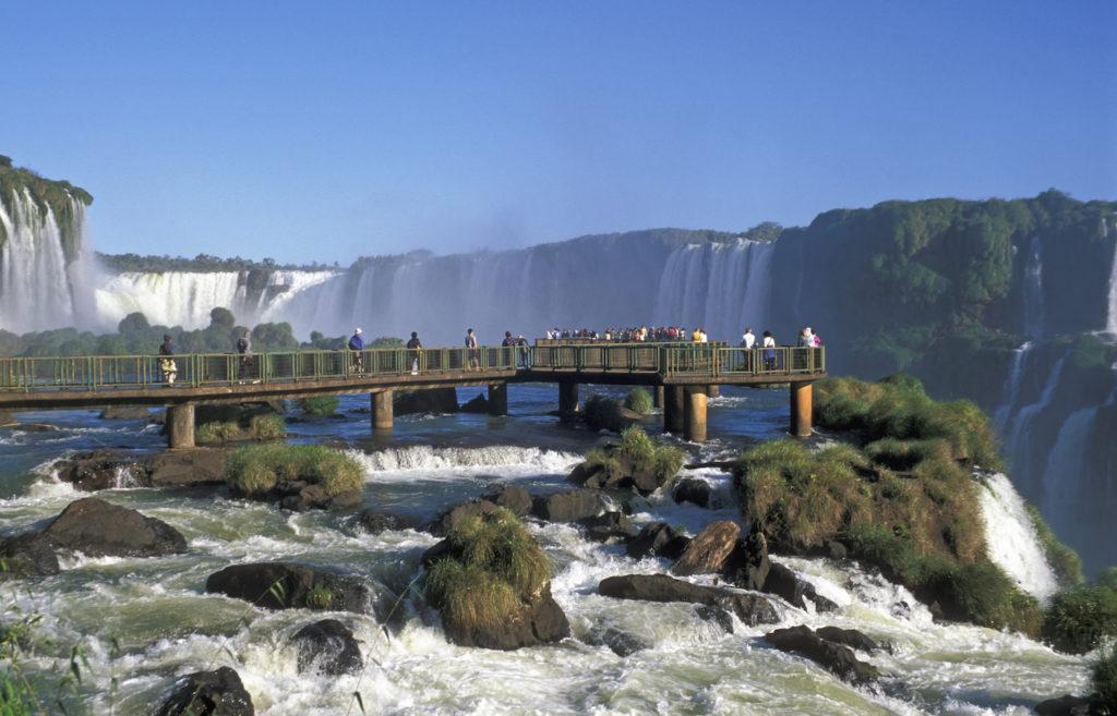 Argentina - 1584 - Iguazú Falls Waterfall Activity