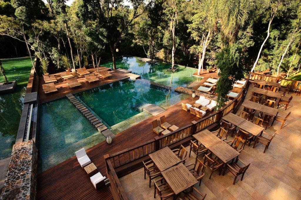 Argentina - Puerto Iguazu - 1584 - Loi Suites Iguazu Hotel pool and decking