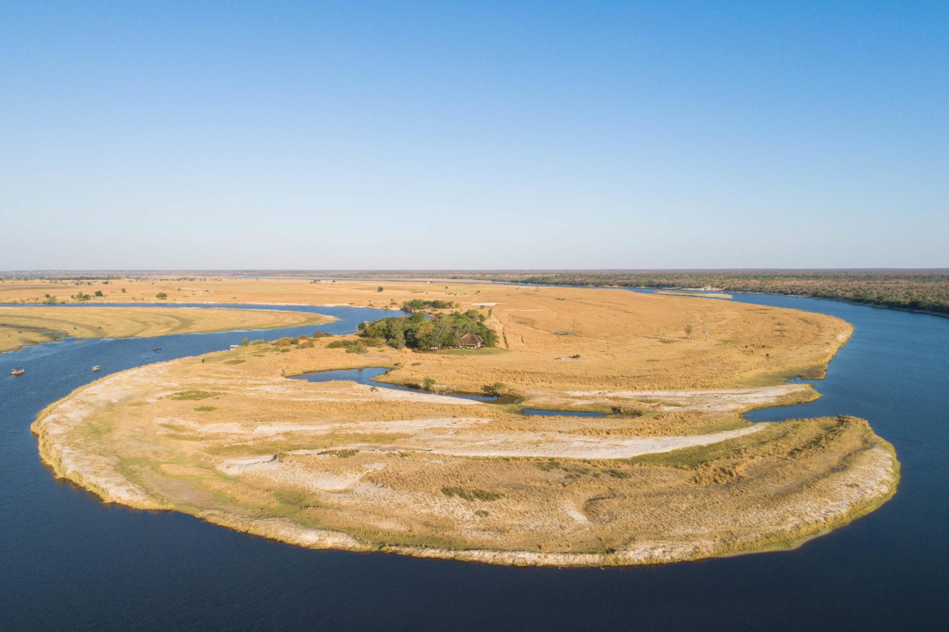 Namibia - 1552 - Chobe Savanna Lodge - Aerial