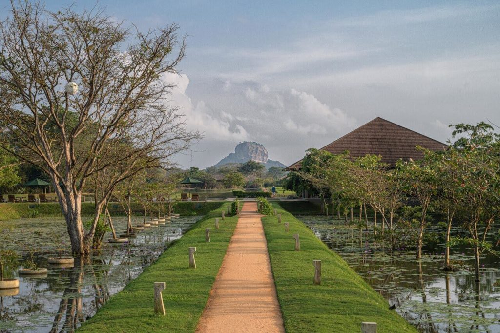 Sri Lanka - Sigiriya - 1567 - Water Garden Sigiriya