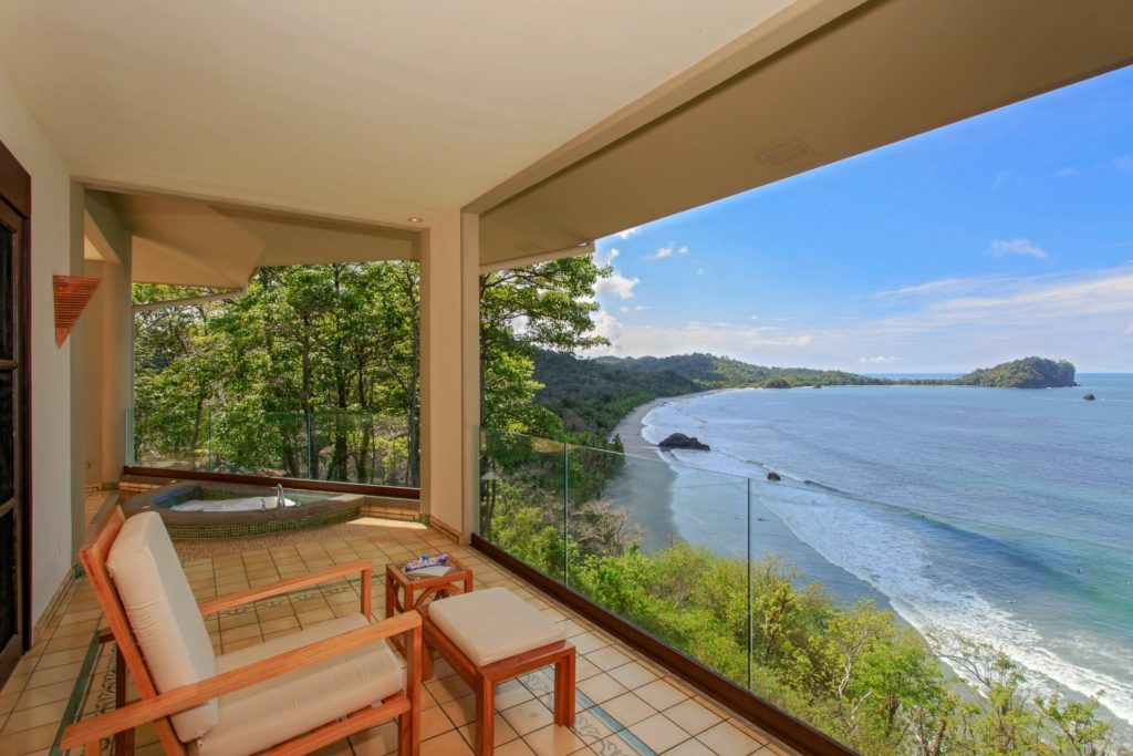 Costa Rica- Puntarenas- 1570- Arenas del Mar Beachfront Balcony Views