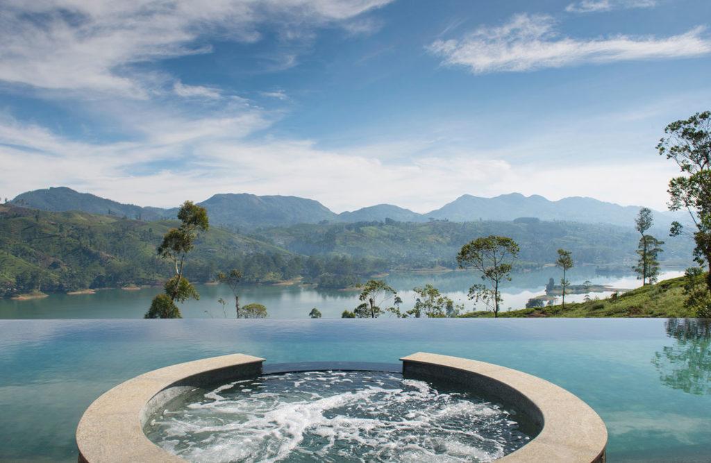 Sri Lanka - Hatton - 1567 - Ceylon Tea Trades Infinity Pool