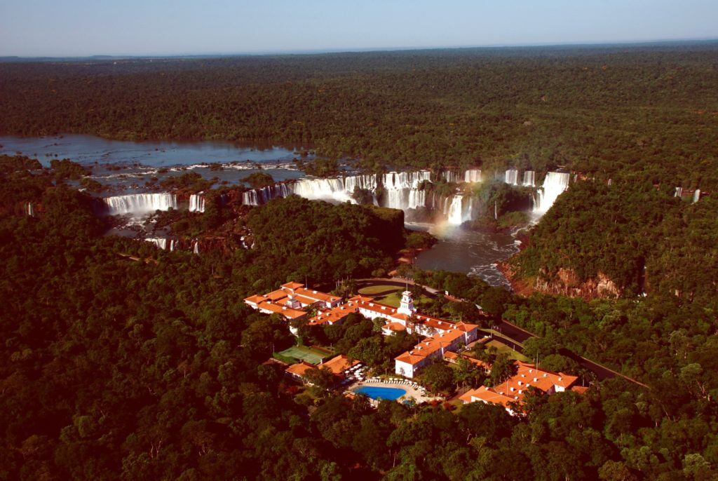 Argentina - Puerto Iguazu - 1584 - Das Cataratas From Above